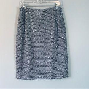 St John Collection sz 12 knit Pencil Skirt
